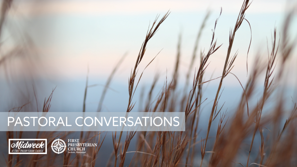 Pastoral Conversations: Mercy Ministry