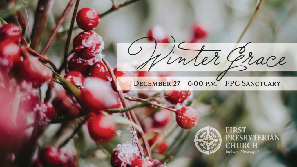 Winter Grace 2020: A Service of Comfort and Hope